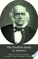 The Doolittle Family in America Book PDF