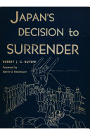 Japan s Decision to Surrender