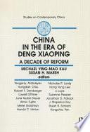 China in the Era of Deng Xiaoping