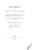 The Ruba  iyat of Omar Khayy  m