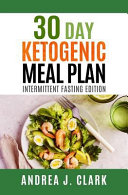 30 Day Ketogenic Meal Plan Book PDF