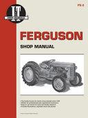 Ferguson Shop Manual Models Te20 To20 To30 I T Shop Service
