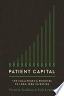 Patient Capital Book PDF