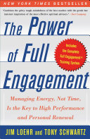 cover img of The Power of Full Engagement