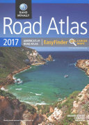 2017 Road Atlas Midsize Easy Finder   Spiral  DRAM