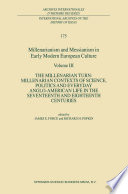 Millenarianism and Messianism in Early Modern European Culture