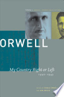 George Orwell: My country right or left, 1940-1943