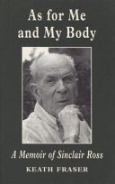 Book As for Me and My Body