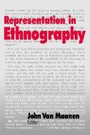 Representation in ethnography