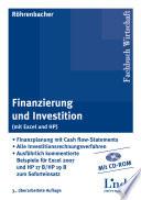 Finanzierung und Investition (mit Excel u.HP)