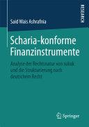 Scharia-konforme Finanzinstrumente
