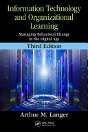 Information Technology and Organizational Learning Book