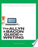 The Allyn Bacon Guide To Writing Concise Edition