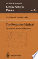 The Recursion Method Book PDF