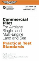 Commercial Pilot for Airplane Single  And Multi Engine Land and Sea