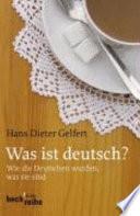 Was ist Deutsch