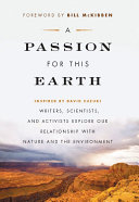 A Passion for This Earth Book