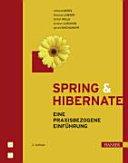 Spring   Hibernate