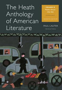 The Heath Anthology of American Literature Heath Anthology Of American Literature Volume D