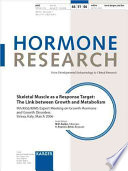 Skeletal Muscle as a Response Target  the Link Between Growth and Metabolism