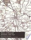 History of Plymouth Plantation  1620 1647