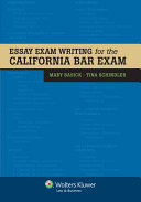 Essay Exam Writing for the California Bar