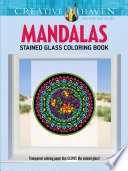 Creative Haven Mandalas Stained Glass Coloring Book