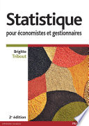 Statistique pour   conomistes et gestionnaires
