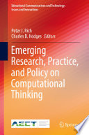 Emerging Research  Practice  and Policy on Computational Thinking