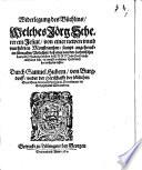 Widerlegung des Büchlins, welches Jörg Scherer von einer neuen Monstranze ... ausgehen lassen