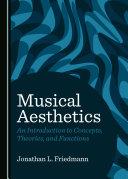 Musical Aesthetics Book