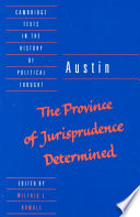 Austin: The Province of Jurisprudence Determined