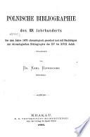Bibliografia Polska