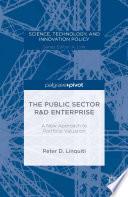 The Public Sector R D Enterprise A New Approach To Portfolio Valuation book