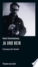 Roland Schimmelpfennig - Ja und Nein