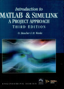 Introduction to MATLAB   SIMULINK  A Project Approach