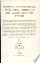 The Ultimate Psychopolitics  Mass Mind Control and the Global Control System