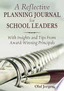 A Reflective Planning Journal For School Leaders