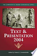 Text & Presentation, 2004