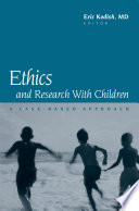 Ethics and Research with Children