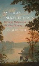American Enlightenments Book