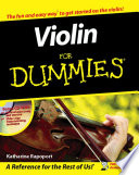 Book Violin For Dummies