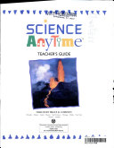 Science Anytime    Teacher s guide