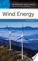 Wind Energy  A Reference Handbook