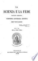La Scienze e la fede