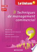 Techniques de management commercial - Le Volum' -