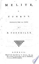 Melite  a comedy
