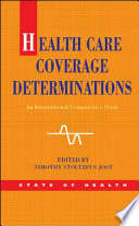 Ebook Health Care Coverage Determinations An International Comparative Study