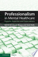 Professionalism In Mental Healthcare