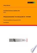 Pflanzenschutzmittel: Verordnung (EG) Nr. 1107/2009